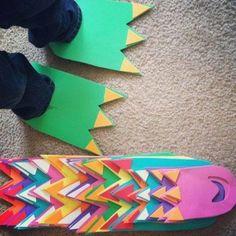 Realiza con tus pequeños estas feroces garras de dinosaurio y pasen una tarde llena de colores