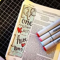 Bible journaling..my kind of worship