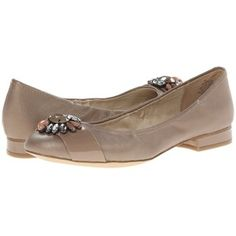 Anne Klein AKPebble Women's Flat Shoes, Taupe