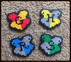 Perler bead designs harry potter items similar to harry potter beads Perler Bead Designs, Diy Perler Beads, Perler Bead Art, Melty Bead Patterns, Pearler Bead Patterns, Perler Patterns, Beading Patterns, Melty Beads Ideas, Bracelet Patterns
