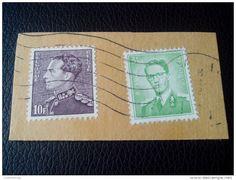 RARE UNIQUE ORIGINAL 1936 STAMP POORTMAN 10F.+3.50F 1970 PARCEL LETTRE RECOMMANDEE STAMPS ON PAPER COVER USED SEAL - Belgium