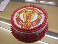 "Birthday Cake ""Manchester United"" - Made By: Strawberry Delight"
