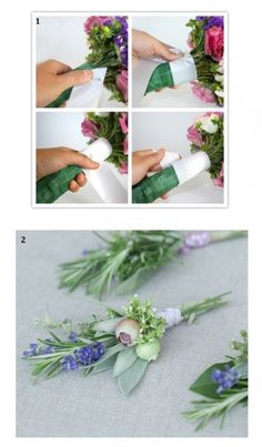 Whether you are considering a complete DIY backyard wedding or simply looking to cut costs we take a look at some great ways to pull of the perfect ha Diy Wedding Inspiration, Cute Wedding Ideas, Herb Wedding, Dream Wedding, Wedding Stuff, Fall Wedding Bouquets, Wedding Flowers, Idee Diy, Wedding Engagement