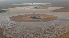 The Worlds Largest Solar Plant Just Torched Itself