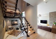 Industrial Design, Future House, Living Spaces, Ikea, Sweet Home, Stairs, Loft, House Design, Interior