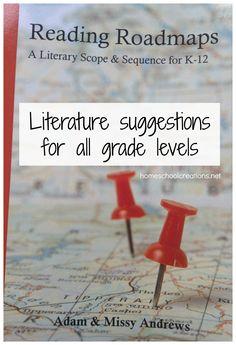 Helpful Guide for Choosing Homeschool Literature for K-12