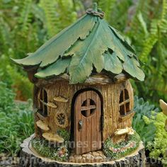 Fairy Homes and Gardens - Woodland Knoll Forest House, $33.59 (https://www.fairyhomesandgardens.com/woodland-knoll-forest-house/)