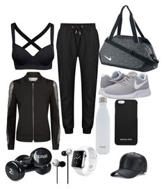 """GYM"" by shairinperdomo ❤ liked on Polyvore featuring Escada Sport, NIKE, S'well, Apple, MICHAEL Michael Kors, Casall and OTM Essentials"