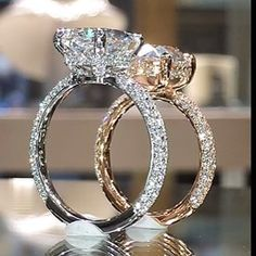 Moonstone Engagement Ring set Rose gold Oval cut engagement ring curved wedding women Diamond Bridal Sapphire ring Anniversary gift for her - Fine Jewelry Ideas Ring Set, Ring Verlobung, Diamond Bands, Diamond Jewelry, Gold Jewelry, Emerald Jewelry, Royal Diamond, Luxury Jewelry, Diamond Earrings