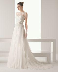 Iona vestido de novia soft Rosa Clara