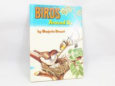 Birds Around Us by Marjorie Stuart Vintage 1961 by ShellyisVintage