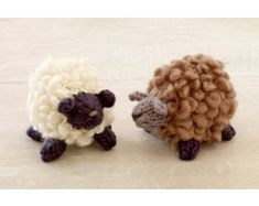 Fluffy Little Sheep Pattern