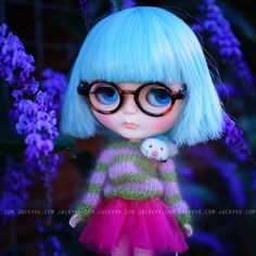 Blythe custom No25 by Jackyvo on Etsy