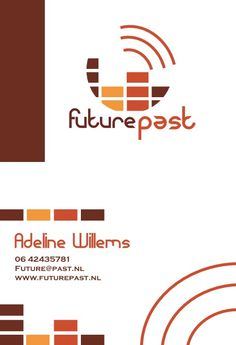 Visitekaartje Future Past Adeline Willems