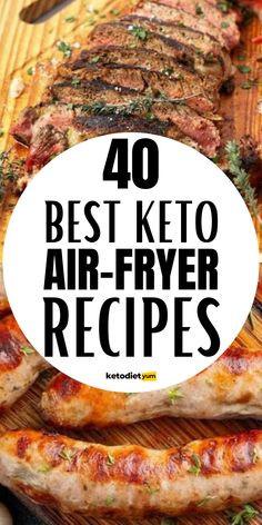 Combine air fryer recipes with the keto diet (an eating plan that consists of high amounts of fat and very low carbs) and get into ketosis faster than ever.