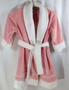 American Girl Emily's Robe For Girls Size XS NWT RARE Real Girl Match Emily Doll #AmericanGirl #Bathrobe