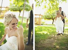 Wedding photography - diptych
