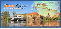 Visit www.murrayriver.com.au/houseboats for Australia's largest range of houseboats to hire, rent and book.