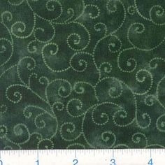 Moda Marble Swirls (9908-33) Hunter Green from @fabricdotcom  Designed for Moda Fabrics, this classic blender cotton print features white swirls on a hunter marbled background.