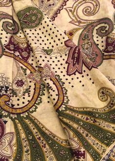 Vintage Silk Sari/ Saree Wrap / Dress Wrap / Beige Fabric / Ethnic Wear/ Art Silk / Traditional Clothing PSS1919