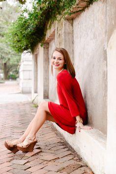 Brooke Cowart | Savannah Ga Senior Portrait Photographer | Forsyth Park - Historic District - Southern Charm