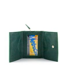 Penguin Life Tri-Fold Wallet w// Button Pocket