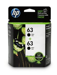 Welcome to my blog exactly where we will be looking at the new HP 63 Black Original Ink Cartridge (F6U62AN), 2 Cartridges (T0A53AN).  The HP 63 Black Original Ink Cartridge (F6U62AN), 2 Cartridges (T0A53AN)  is excellent product, yet and it has extremely been bought by so many...