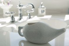 Rational Aromatic Salt Premium Ceramic Neti Pot Green Reasonable Price Natural & Alternative Remedies Neti Pots & Cleansers