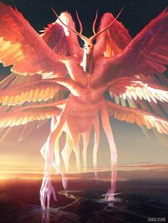 Artist: Chase Stone - Title: Phantom Beast Adv - Card: Barnabas, Beast of Logic (Reason) Monster Art, Monster Concept Art, Fantasy Monster, Monster Design, Dark Fantasy Art, Fantasy Artwork, Creature Concept Art, Creature Design, Chase Stone
