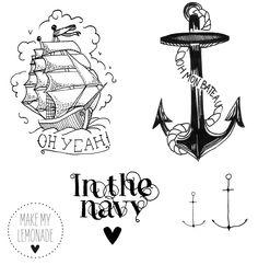 Tatouages marins