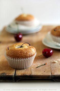 Cherry Muffins...when cherries are in season. :)