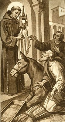 Eucharistic Miracle: St Anthony and the My love,St.Anthony!Thank You! Well,,,one of my many,many loves,lol.