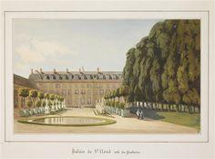 14-527281 Le château de Saint-Cloud : vue du côté du parterre Fort Siméon Jean Antoine (1793-1861) Chantilly, musée Condé Réunion des Musées Nationaux-Grand Palais -