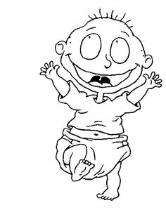 27 best Rugrats Coloring Pages images on Pinterest   Coloring books ...