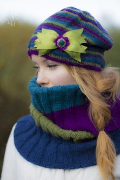 Pipo ja tuubihuivi / Hat and neck warmer