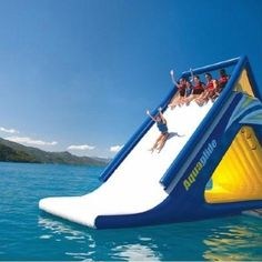 Slide into the carribean.. Royal Carribean Cruise Line :D