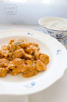 In my little kitchen: Tikka masala de pollo de Jamie Oliver