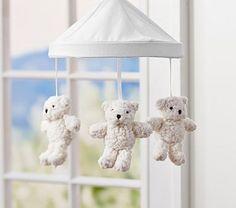 teddy bear mobile for Teddy!  :-)
