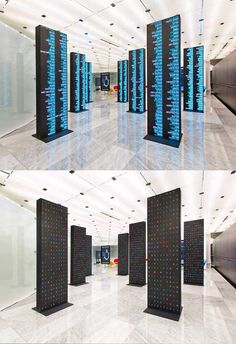Telefonica Flagship Store Barcelona  EXIT DESIGN — some works  Mobile world centre Barcelona