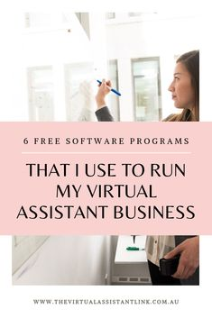 Starting your Virtual Assistant business doesn't have to be expensive. Here are 6 FREE programs you can use to start your Virtual Assistant business today. Business Planning, Business Tips, Online Business, Successful Business, Craft Business, Business Website, Business Marketing, Email Marketing, How To Make Money