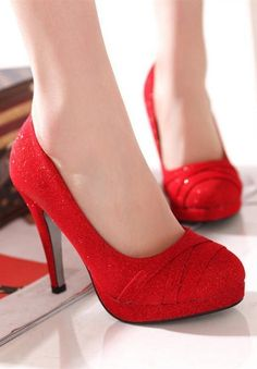 Red Shoes..oh yes! Red is one of Sofia's colors. She would definitely want these shoes in her wardrobe.