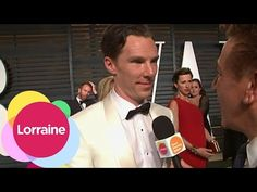 Benedict Cumberbatch at the post Oscars Vanity Fair party 2015