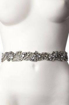 Acacia Bridal Belt II Silver - Jenny Packham