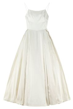 Um...ASOS Is Launching A Bridal Collection #refinery29  We think this one has an Audrey Hepburn feel to it, no?...