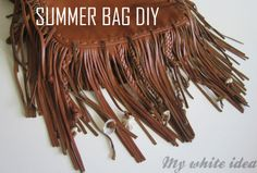 SUMMER BAG DIY | MY WHITE IDEA DIY