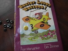 Vintage 1st edition Buster Loves Buttons childrens book