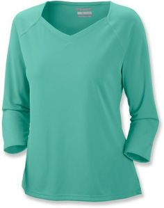 Columbia Skiff Guide 3/4-Sleeve Top - Women\'s Plus Sizes