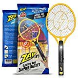 #10: Zap-It! Bug Zapper - Rechargeable Mosquito Fly Killer and Bug Zapper Racket - 3000 Volt - USB Charging Super-Bright LED Light to Zap in the Dark - Unique 3-Layer Safety Mesh That's Safe to Touch Gal 5:23: gentleness and self-control. Against such things there is no law.