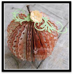 Great pumpkins from Spellbinders