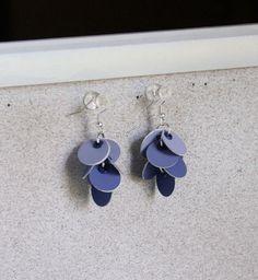 diy paint chip earrings